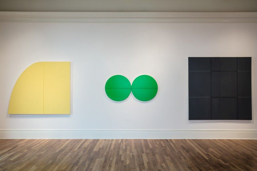 Julio Suárez, Untitled, 2015; OO (infinito), 2013; Entalle Clásico, 2004. Cortesía: Newcomb Art Museum, Tulane University