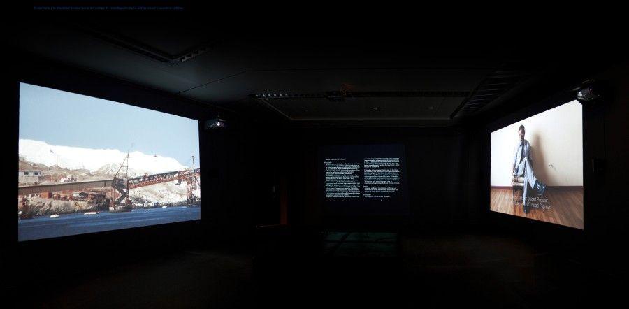 """Ingrid Wildi Merino, """"Arica y Norte de Chile; No lugar y lugar de todos"""", Museo de Bellas Artes de Berna, Suiza, 2009 -2011. Cortesía de la artista"""