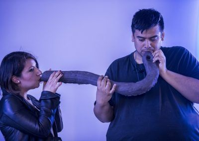 Naufus Ramírez-Figueroa, Third Lung, 2017. Vista de la obra en la Esposizione Internazionale d'Arte - La Biennale di Venezia, Viva Arte Viva. Foto: Jacopo Salvi. Cortesía: La Biennale di Venezia.