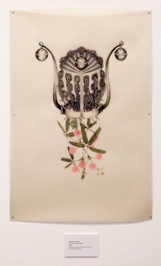 Joscelyn Gardner, Retratos criollos III: una colección de cabezas criollas del sexo femenino, 2009-2011. Vista de la exposición Los Multinaturalistas, en el MAMM, 2017. Foto: Úrsula Ochoa