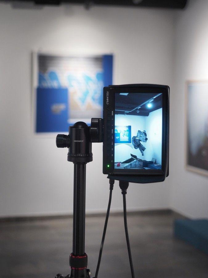 Cristóbal Cea, Fantasmas, 2016, video, animación 3D. Cortesía del artista y galería NAC