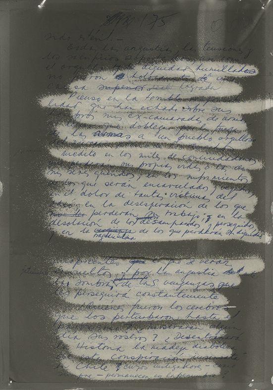 """Parte de la obra """"Acción medular. Homenaje al General Carlos Prats González"""", de Fernando Prats, en el Museo de la Memoria y los Derechos Humanos (MMDDHH), Santiago de Chile, 2017. Cortesía del artista y MMDDHH"""