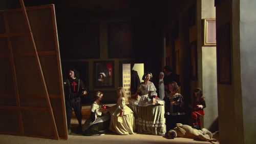 Eve Sussman (Inglaterra, 1961)/Rufus Corporation, 89 Segundos en Alcázar, 2003, video. Cortesía de Cea