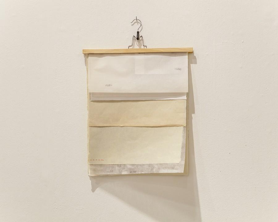 """Vista de la exposición """"Fuera de Sitio"""", de Leonardo Nieves, en Abra, caracas, 2017. Cortesía del artista y de la galería"""