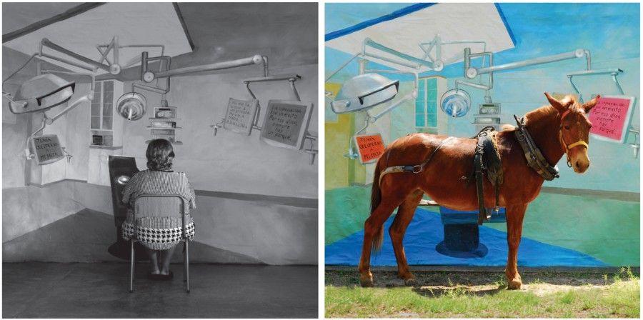 Anabella y su ilusión (2008), de la serie Ilusiones. Parte de la exposición Prosa del observatorio de la artista Adriana Bustos en el Museo de Arte Contemporáneo de Castilla y León (MUSAC), en León, España. Foto: cortesía de la artista.