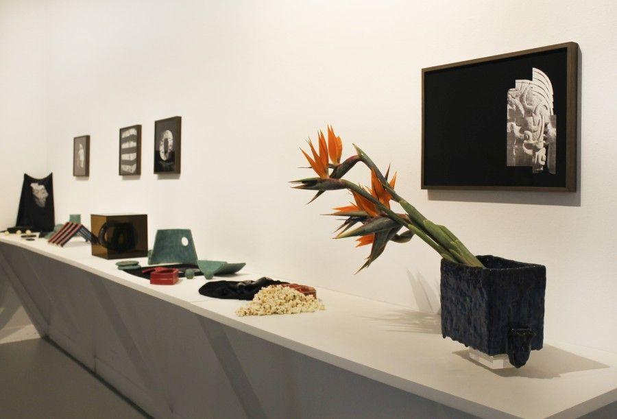 """Vista de la exposición """"Cartografías Líquidas"""", en el Museo de Arte Carrillo Gil, Ciudad de México, 2017. Foto cortesía del MACG"""