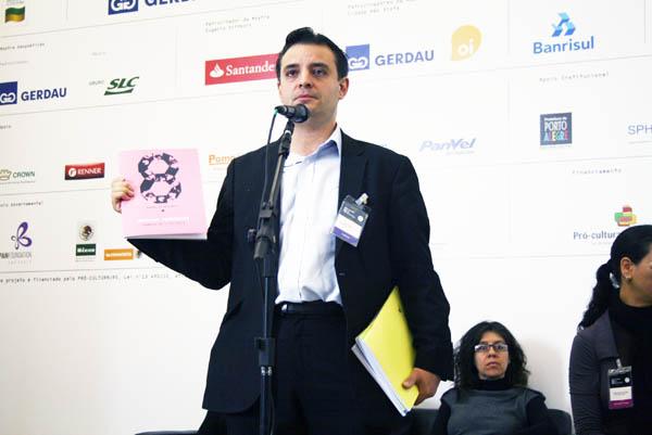 Pablo Helguera, curador Pedagógico de la 8va Bienal de Mercosur