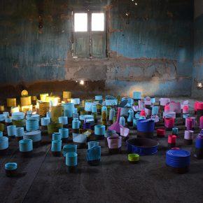 Parte de la muestra Plan de Cierre de Marco Bizzarri en Centro ARC, Los Choros, Chile. Foto: Marco Bizzarri, cortesía Centro ARC.