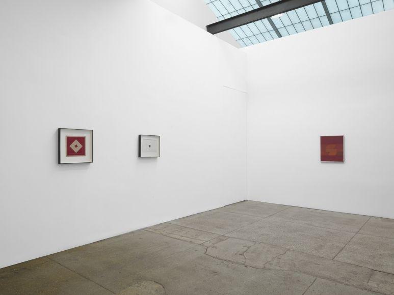 Vista de la exposición de Grupo Frente, en Galerie Lelong, Nueva York, 2017. Cortesía de la galería