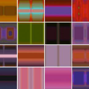 Félix Lazo, instant Rothko, 2007, software, duración indefinida.