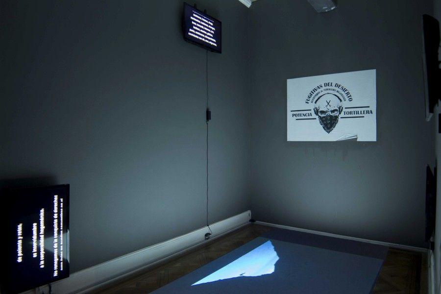 """Vista de la exposición """"Multitud Marica"""", en el Museo de la Solidaridad Salvador Allende (MSSA), Santiago de Chile, 2017. Cortesía: MSSA"""