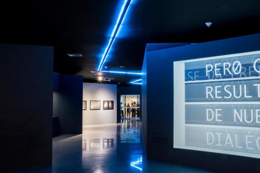 Vista de la exposición 89 noches, en el Museo de Antioquia, Medellín, Colombia, 2017. Cortesía del museo