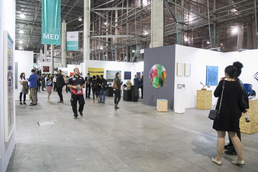 Vista de la feria ART MED 2017, Medellín, Colombia. Cortesía de ART MED