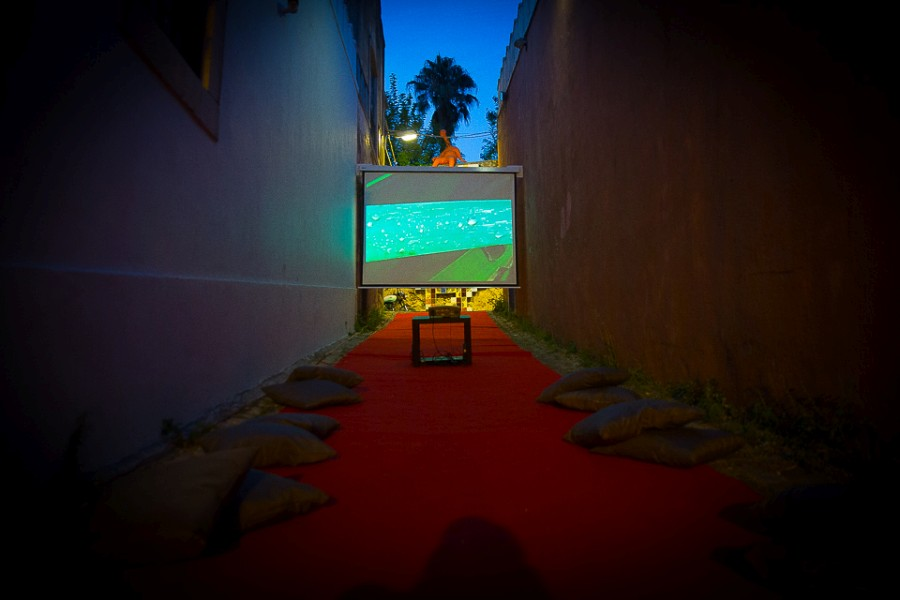 FUSO | ANUAL DE VIDEO ARTE INTERNACIONAL DE LISBOA, 2017. Foto: ©alipiopadilha
