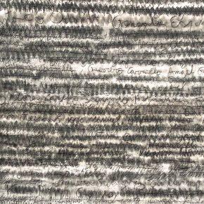 Lista Negra (2016), parte de la muestra Post Data de Gabriel Holzapfel en Galería Metales Pesados Visual, Santiago de Chile. Foto: cortesía de la galería.