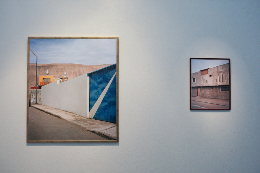 Vista de la muestra Cantos de Tarapacá, en el Centro Cultural de España en Santiago de Chile. Foto cortesía CCE Santiago.