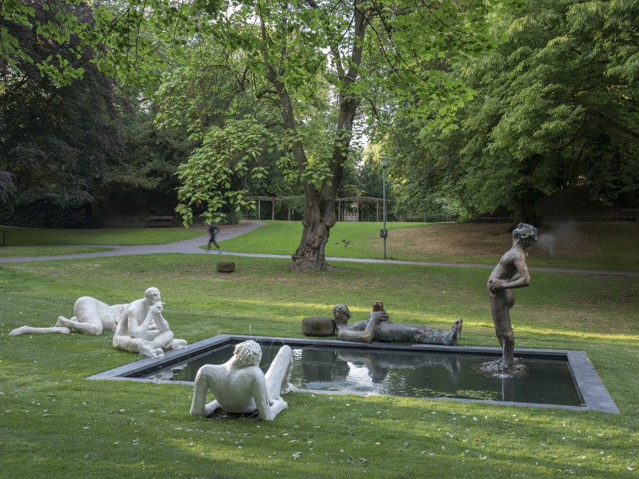 Nicole Eisenman, Sketch for a fountain. Foto: Henning Rogge