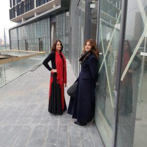 La galerista Isabel Aninat y su hija y socia, Javiera García- Huidobro