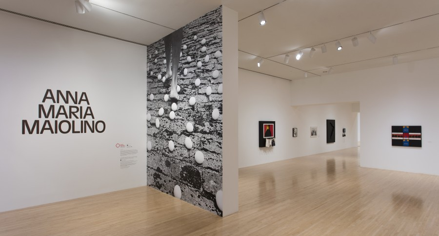 Anna Maria Maiolino, vista de la exposición retrospectiva en el MOCA, Los Angeles, 2017. Cortesía: MOCA