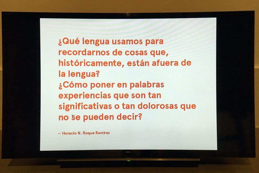 Pieza parte de la muestra colectiva Soy Paisaje, en el Centro de Arte Contemporáneo de Quito, Ecuador. Foto: cortesía CAC.