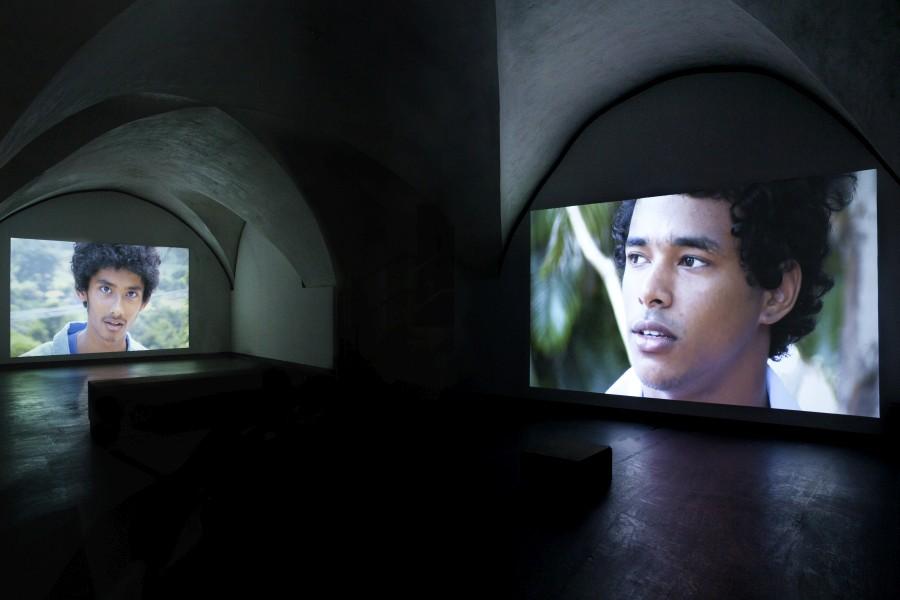 Valerio Rocco Orlando, ¿Qué educación para Marte?, 2015. Vista de la instalación en el Museo Marino Marini, Florencia. Foto: Antonio Angelucci