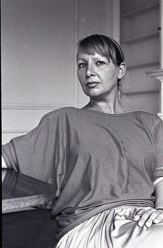 Nelly Richard, 1984, por Inés Paulino
