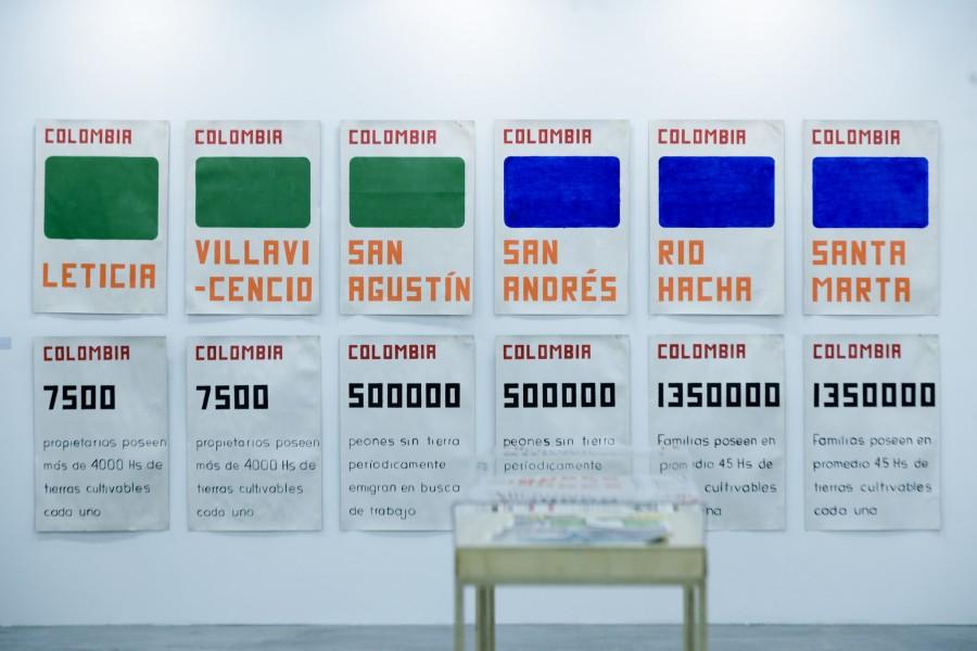 Vista de la Sección Referentes de ARTBO 2017. Foto cortesía de ARTBO © Cámara de Comercio de Bogotá / 48 por Segundo.