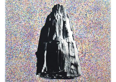 Maite Zabala, Sin título, 2016, serigrafía sobre papel, 70 x 70 cm. (c/marco)