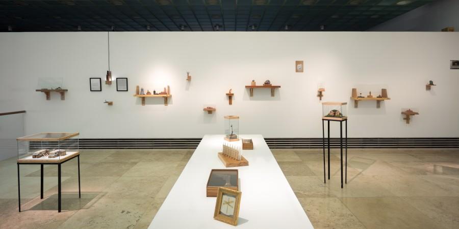 Vista de la muestra Obras No Recientes de Nicolás Grum en Galería Patricia Ready, Santiago de Chile. Foto: Felipe Ugalde, para Artishock.