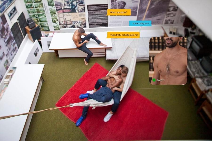 Andrés Jaque, Exit, imagen basada en el Rascainfiernos del arquitecto español Fernando Higueras