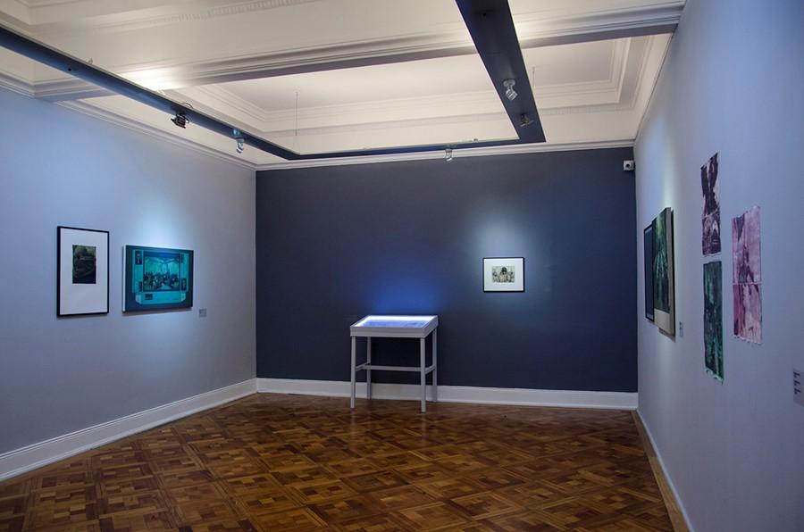 Vista de la muestra Pálido Fuego de Mariana Najmanovich en el Museo de la Solidaridad Salvador Allende, Santiago de Chile. Foto: cortesía MSSA.
