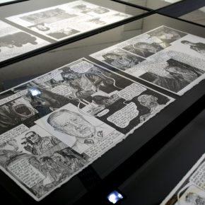 Vista de la muestra Anticristo de Javier Rodríguez en Galería Metales Pesados Visual, Santiago de Chile. Foto: cortesía de la galería.