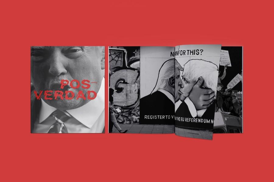 Posverdad, serie de publicaciones de la editorial uruguaya Microutopías. Cortesía de la editorial