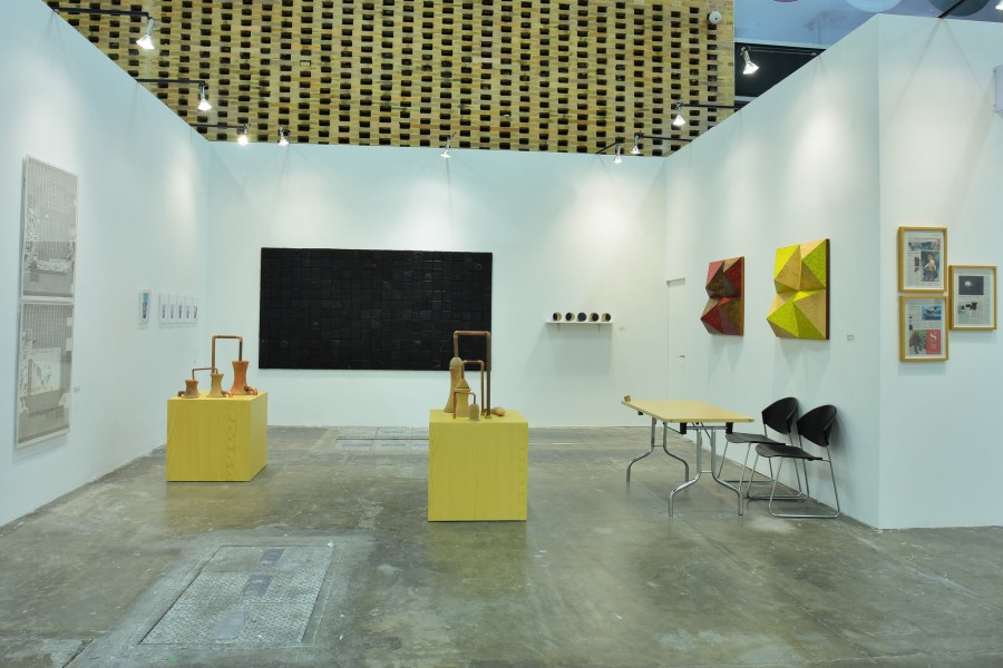 Galería 80m² Livia Benavides (Lima). Sección Principal ARTBO 2017. Foto cortesía de ARTBO © Cámara de Comercio de Bogotá / 48 por Segundo.