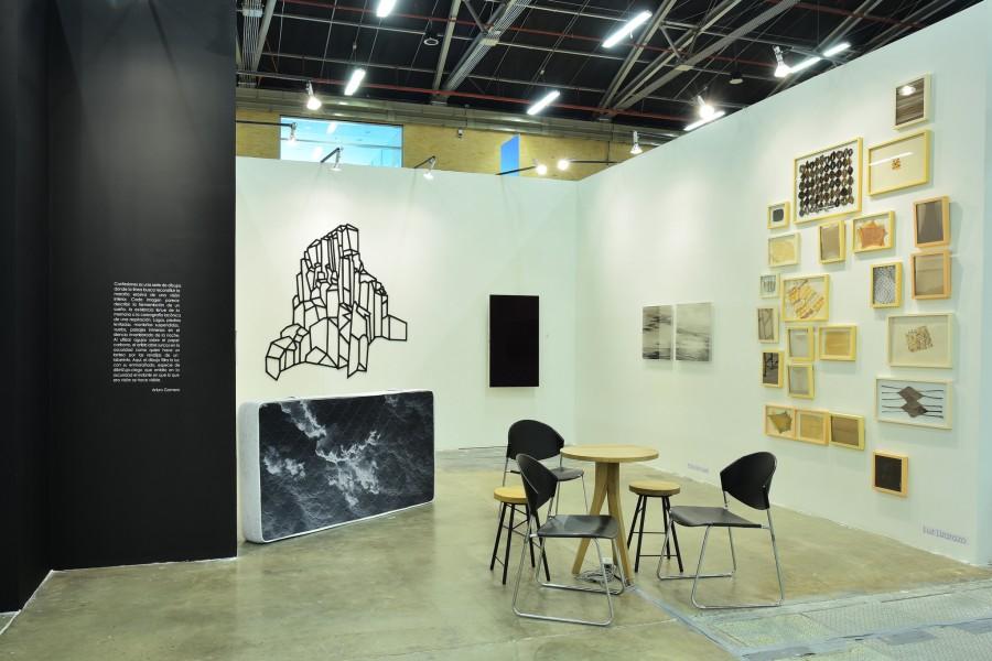 Galería Eduardo Fernandes, Brasil. Sección Principal ARTBO 2017. Foto cortesía de ARTBO © Cámara de Comercio de Bogotá / 48 por Segundo.