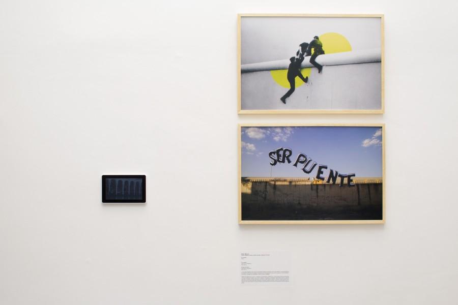 """Sector Reforma, """"Pensar la praxis"""" (arriba), y """"Ser puente"""" (abajo). Cortesía: Casa Hoffmann"""