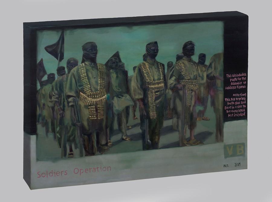 De la serie Prototipos para armar (2016), parte de la muestra Pálido Fuego de Mariana Najmanovich en el Museo de la Solidaridad Salvador Allende, Santiago de Chile. Foto: cortesía MSSA.