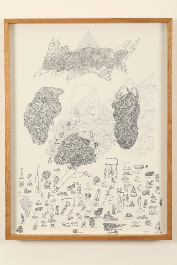 De la serie Ajuar del Olvido (2017) de Marlov Barrios, parte de su muestra Rituales Disidentes en Galería Extra, Ciudad de Guatemala. Foto: cortesía de la galería.
