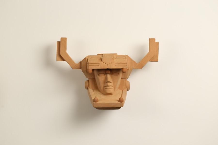 De la serie Resurrecciones (2017) de Marlov Barrios, parte de su muestra Rituales Disidentes en Galería Extra, Ciudad de Guatemala. Foto: cortesía de la galería.