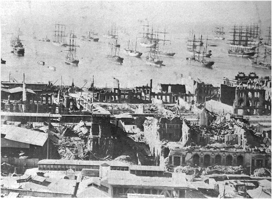 Terremoto de Valparaíso, 1906
