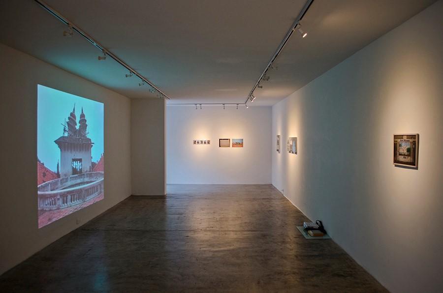 Vista de la muestra Tropical Moderno de Manuel Eduardo González en Spazio Zero Galería, Caracas. Foto: cortesía de la galería.