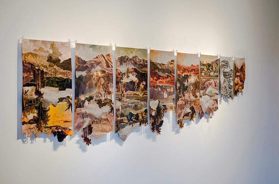 Pieza de la muestra Tropical Moderno de Manuel Eduardo González en Spazio Zero Galería, Caracas. Foto: cortesía de la galería.