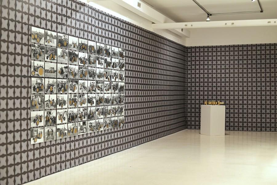 Vista de la muestra Ultramar Sur de Patrick Hamilton en la Fondazione Pastificio Cerere, Roma. Foto: cortesía del artista.