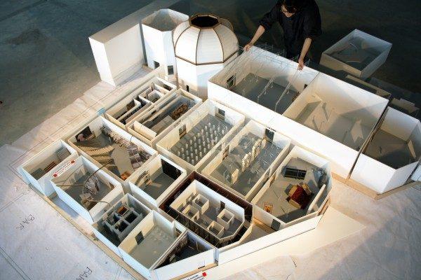 Elements of Architecture, Pabellón Central, Giardini (maqueta en progreso), 14va Bienal de Arquitectura de Venecia / Fundamentals. Cortesía: Bienal de Venecia. Copyright Rem Koolhaas