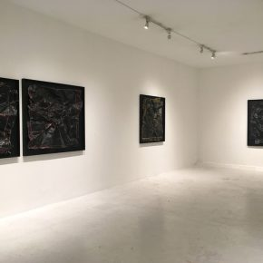 Vista de la muestra Todo se ve tal como es de Paula de Solminihac en Galería Sextante, Bogotá. Foto: cortesía de la galería.