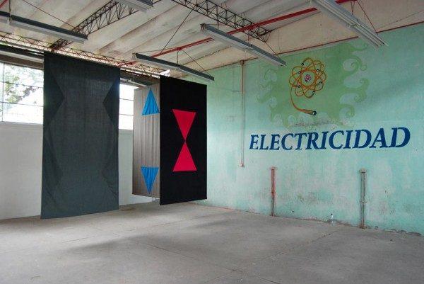 Vista de instalación Sin título (para Cuenca) (2014), de Felipe Mujica. Cortesía del artista