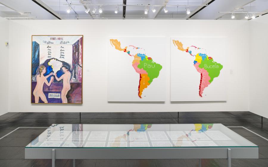 """Vista de la exposición """"Histórias da sexualidade"""", en el Museo de Arte de São Paulo (MASP), 2017. Foto: Eduardo Ortega"""