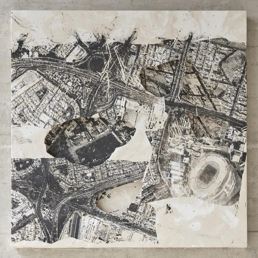Vista de la muestra Cartografía Animal de Alberto Borea en Revolver Galería, Lima. Foto: cortesía de la galería.