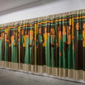 Beatriz González, Decoración de interiores, 1981, serigrafía sobre tela. Cortesía de la artista