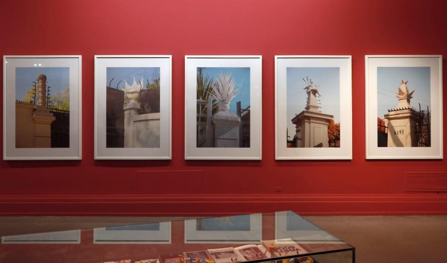Remates, de Andrés Durán, parte de la muestra colectiva Menos es Más, en el Museo Nacional de Bellas Artes, Santiago de Chile. Foto cortesía MNBA